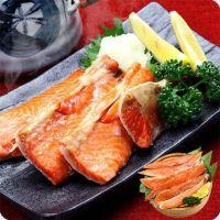 天然紅鮭ハラスたっぷり500g(約5~10本入り/バラツキあり)