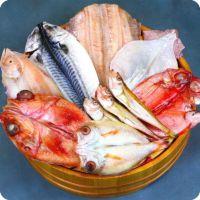 高級魚きんき&のどぐろ入り干物8セット(きんき、のどぐろ、金目鯛、縞ほっけ、とろさば、赤かれい、真いか、はたはた)